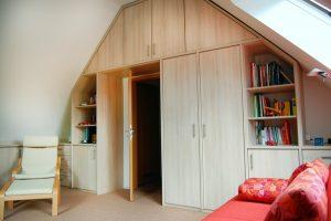Maßangefertigte Möbel für Ihr Dachboden.